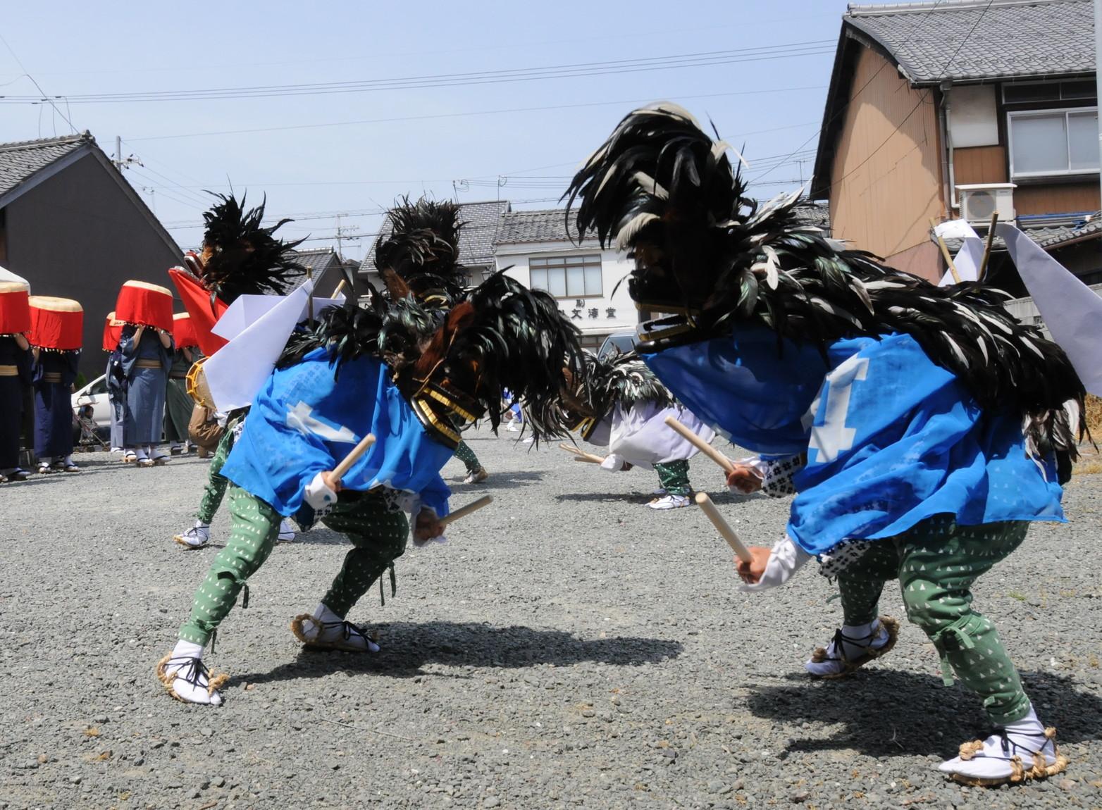 雲浜獅子(お城祭り)