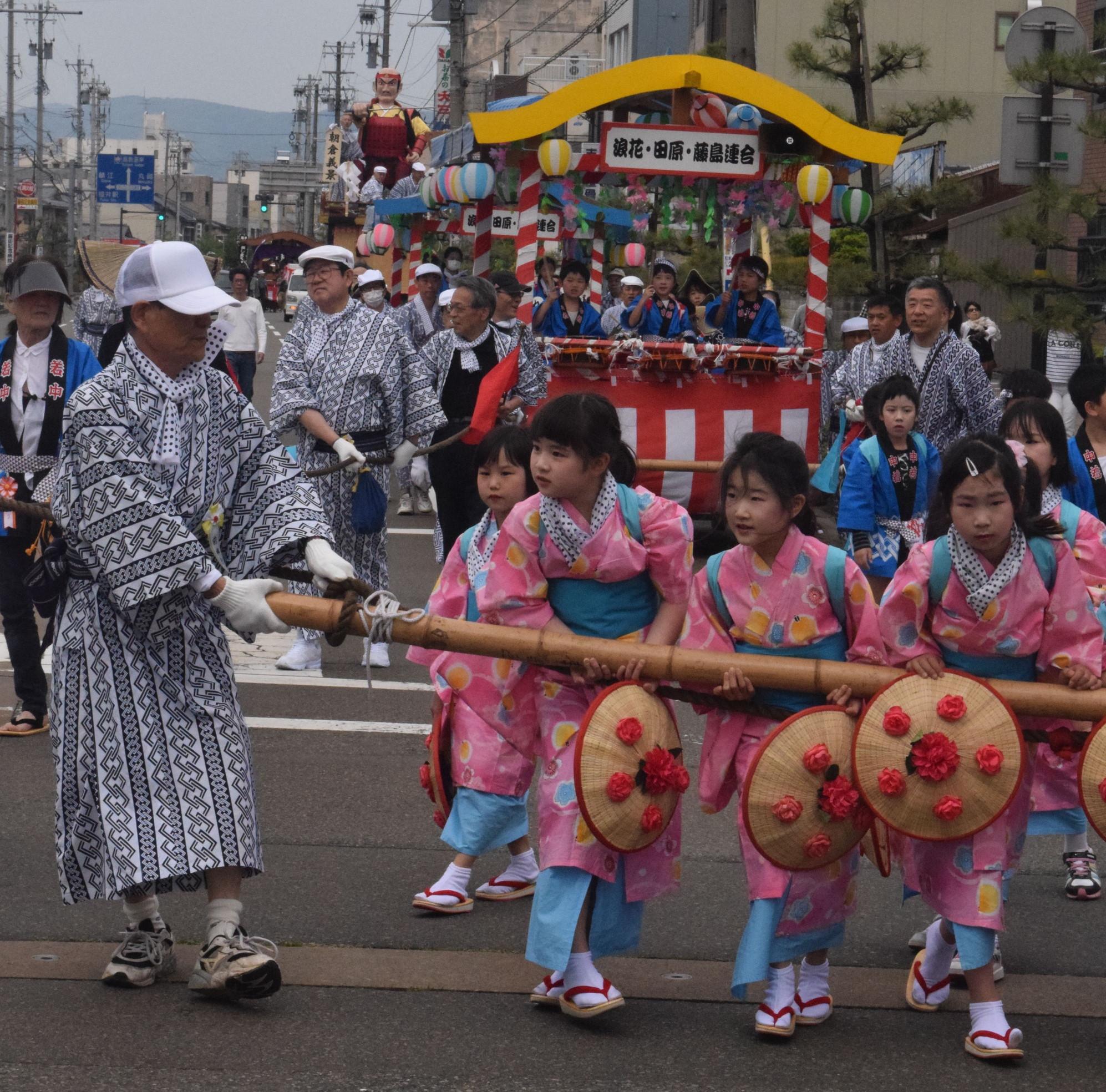 神明神社春季例大祭