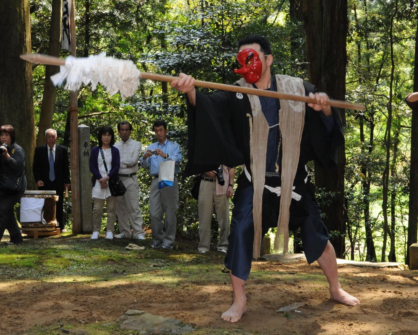 椎村神社の祭り