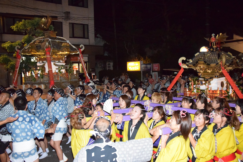 総社めおとみこし(総社神宮例祭)
