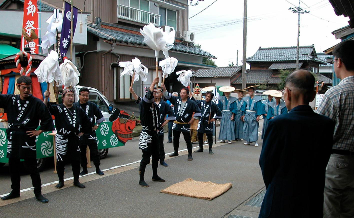 柴神社秋季大祭