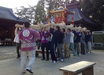 劔神社秋季例大祭
