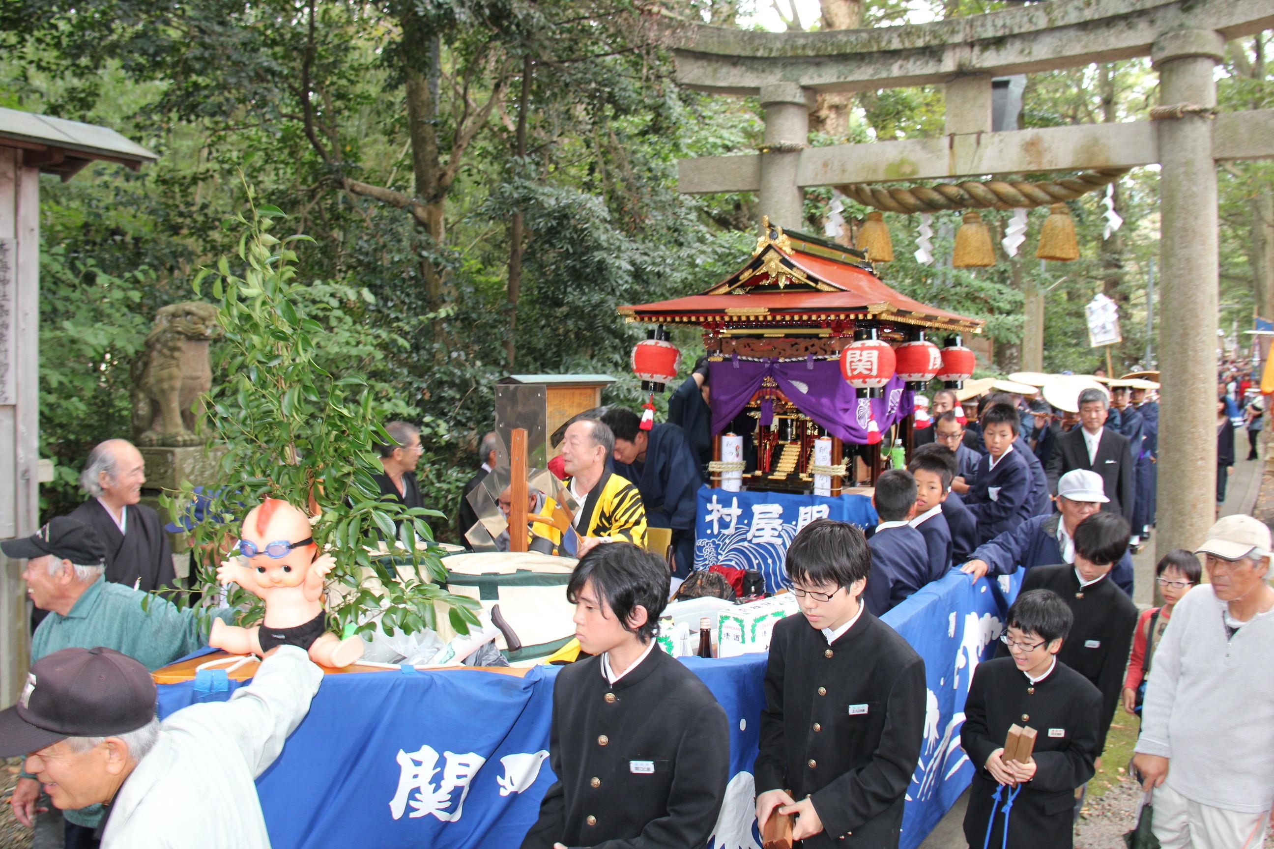 青海神社例祭