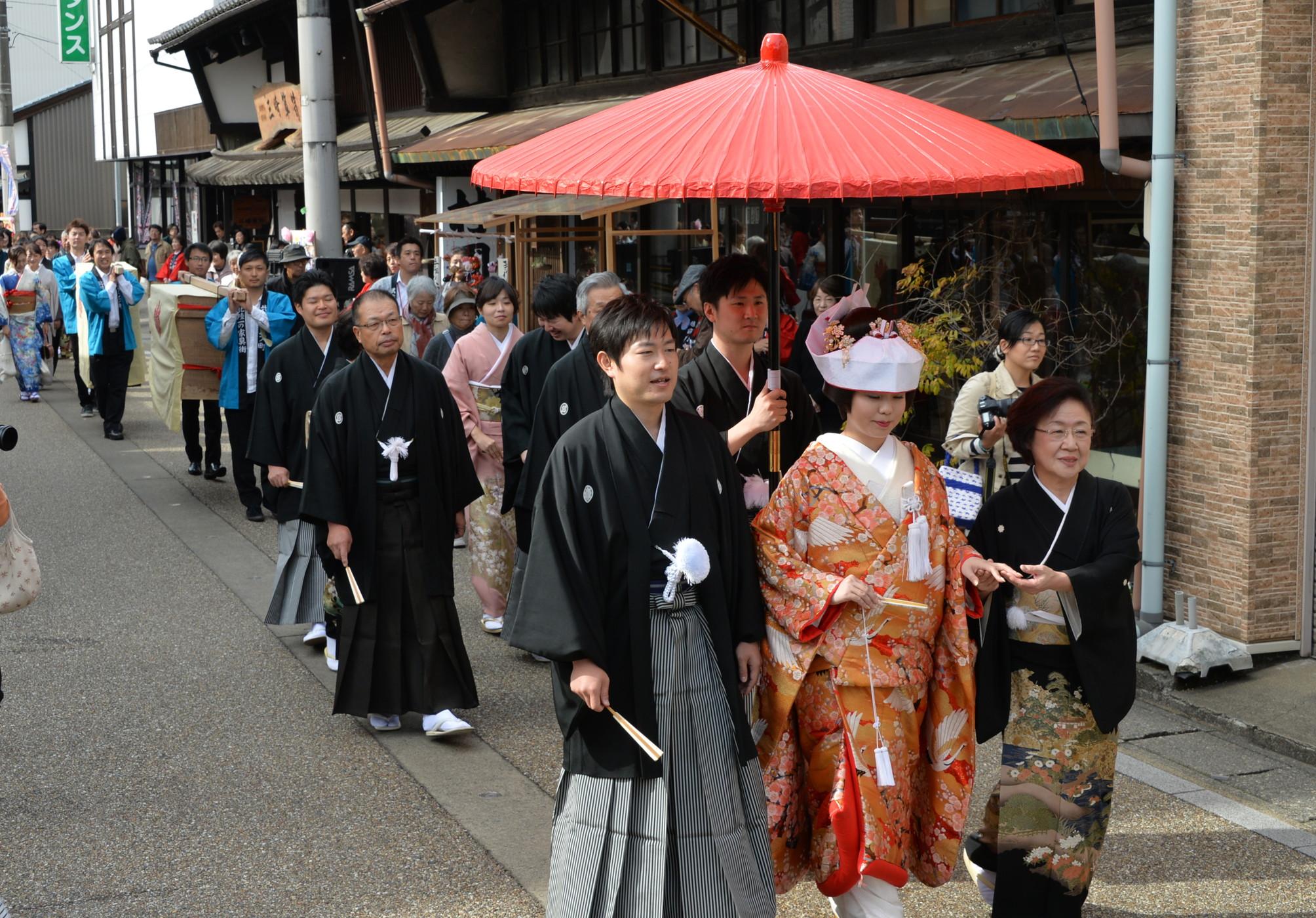 昭和の花嫁行列