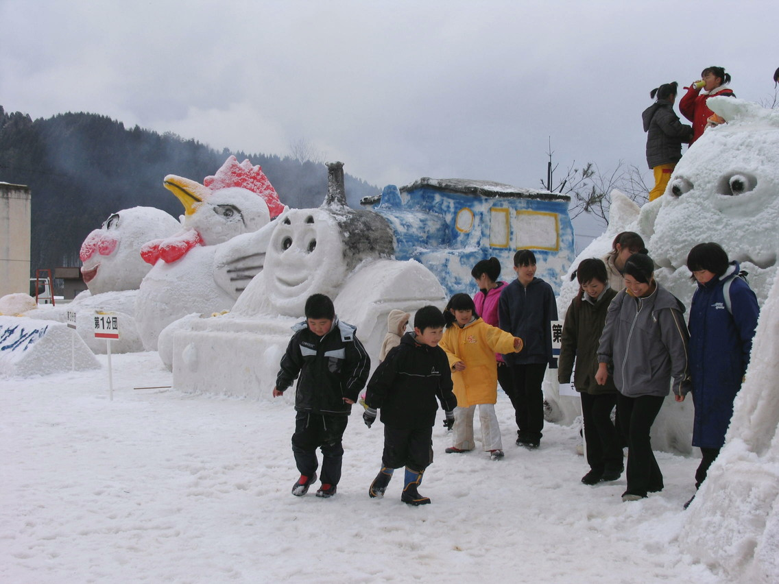 鹿谷町雪まつり