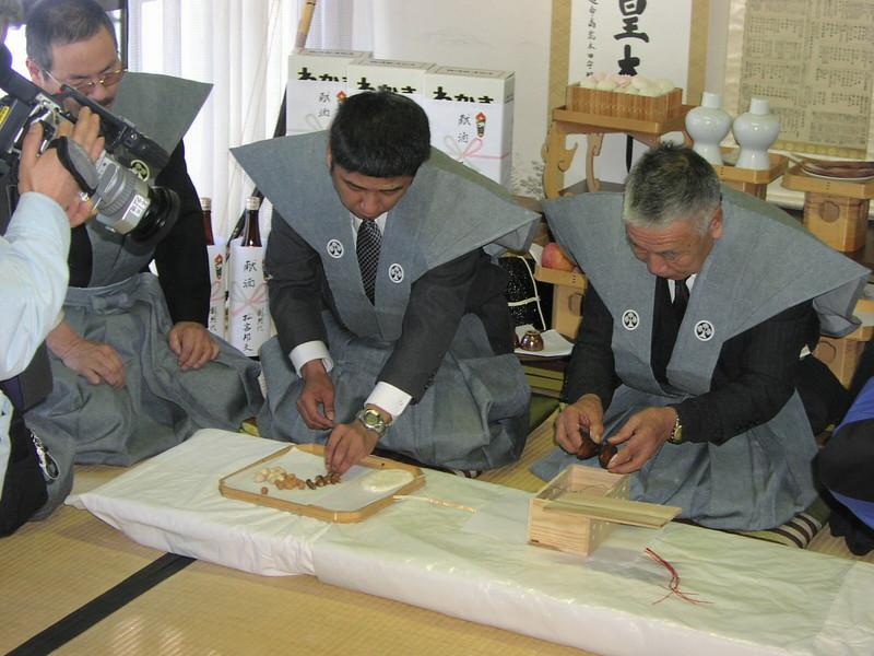 加茂神社のオイケモノ