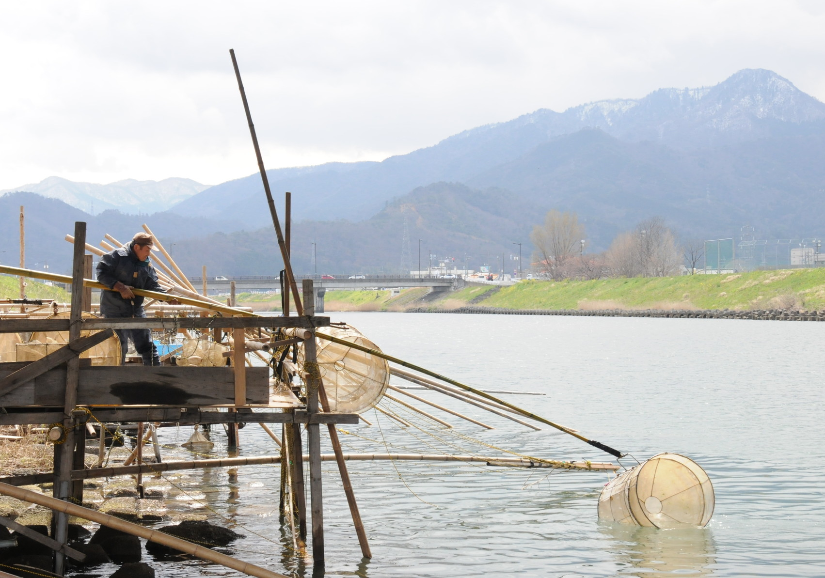イサザ漁の解禁