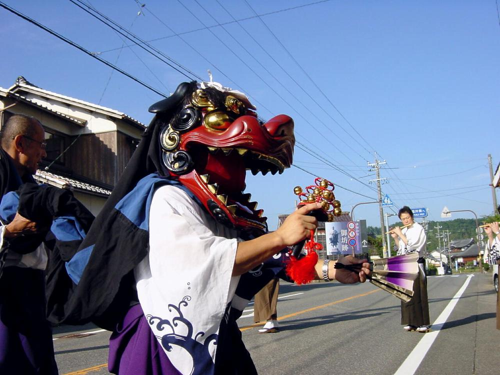 吉崎神楽(吉崎春日神社秋の例祭)
