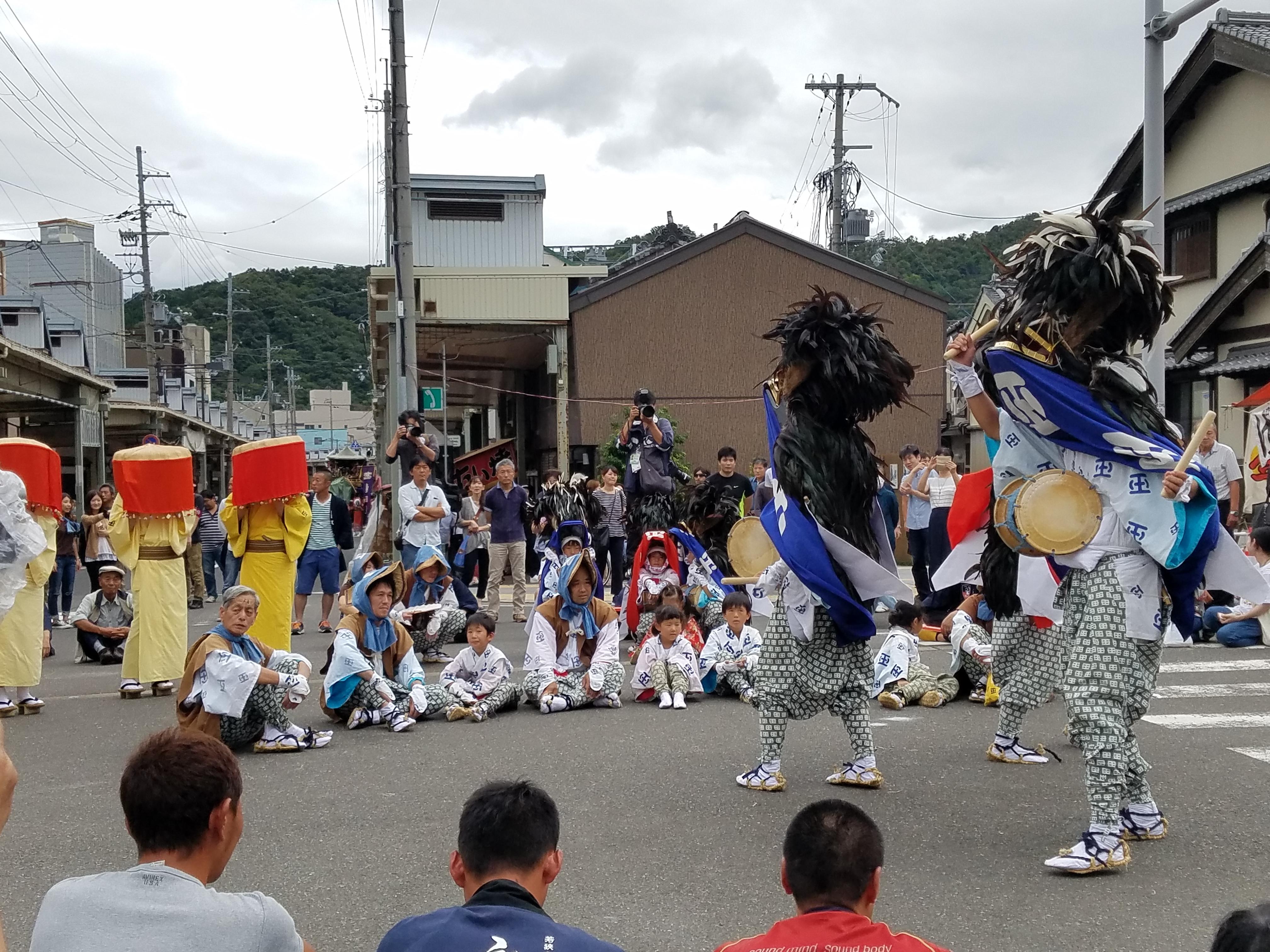 迫力の放生祭@小浜放生祭