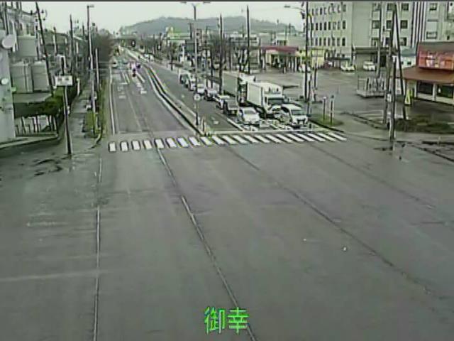 国道8号[鯖江市 御幸町]ライブカメラ