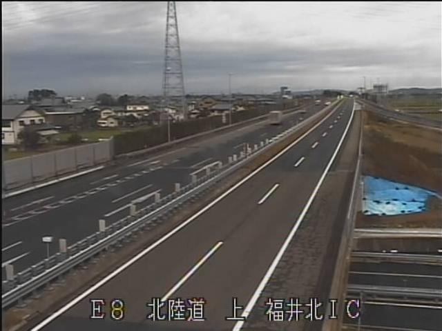 北陸自動車道路[福井市 福井北IC]ライブカメラ
